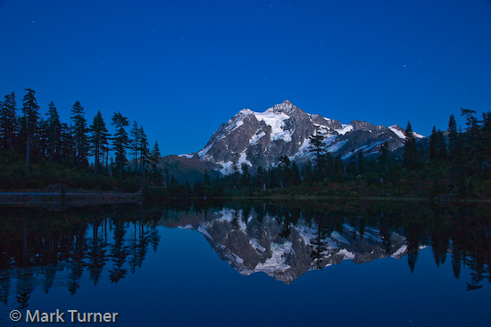 Mt. Shuksan at Twilight