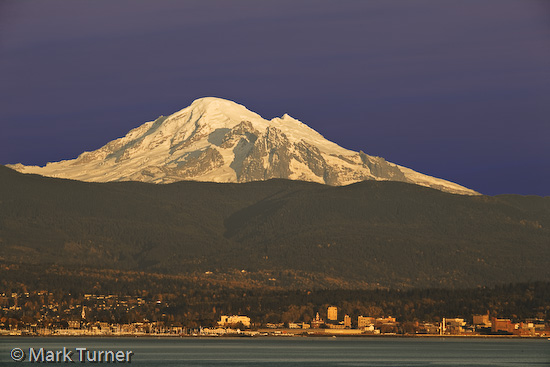 Mt. Baker from Bellingham Bay
