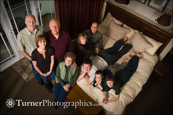 Henshaw Family at the Hotel Bellwether