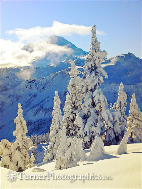 Winter at Mt. Baker