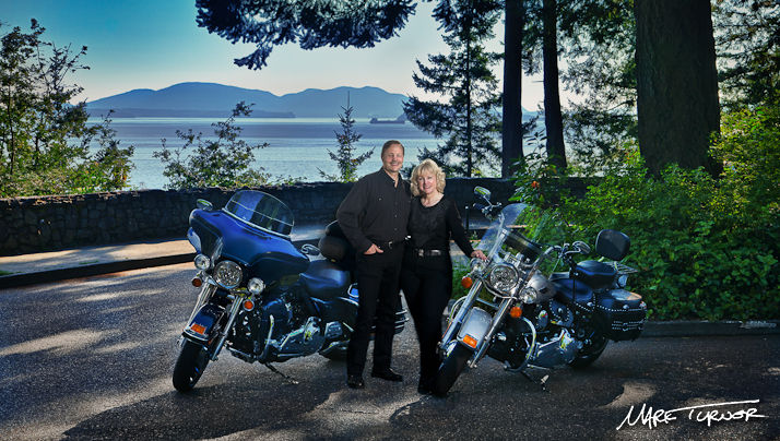 Bill & Marla Rodgers Portrait. Chuckanut Drive, Bellingham, WA. © 2011 Mark Turner