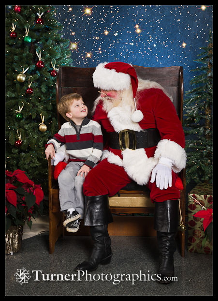 Portrait with Santa. 2011