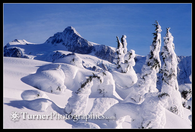 Mt. Shuksan in winter