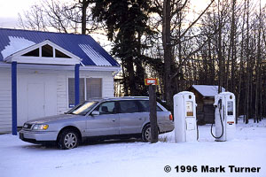 Groundbirch gas pumps