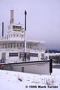 Klondike riverboat