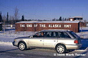 Alaska Highway end