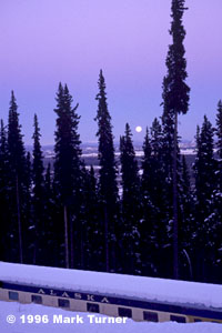 Moonrose over Fairbanks