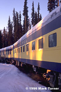 Aurora Express B&B Rail Car