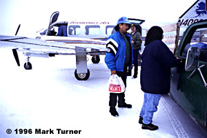 Mail plane to Fort Yukon