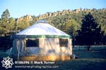 Seally Yurt at Sunrise