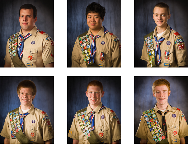Troop 20 Eagle Scouts