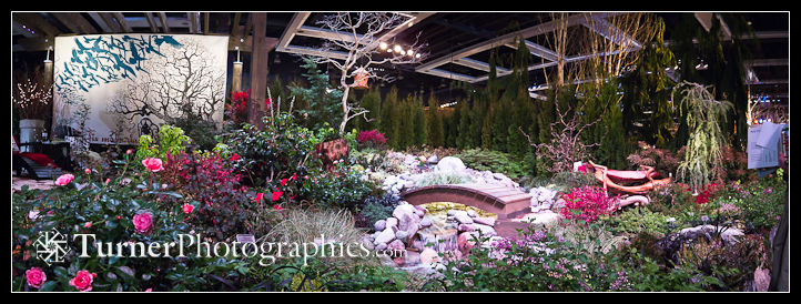 """Twistin' the Night Away"" display garden"