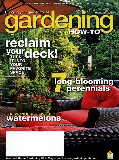 Gardening How-to March 2012 Cover