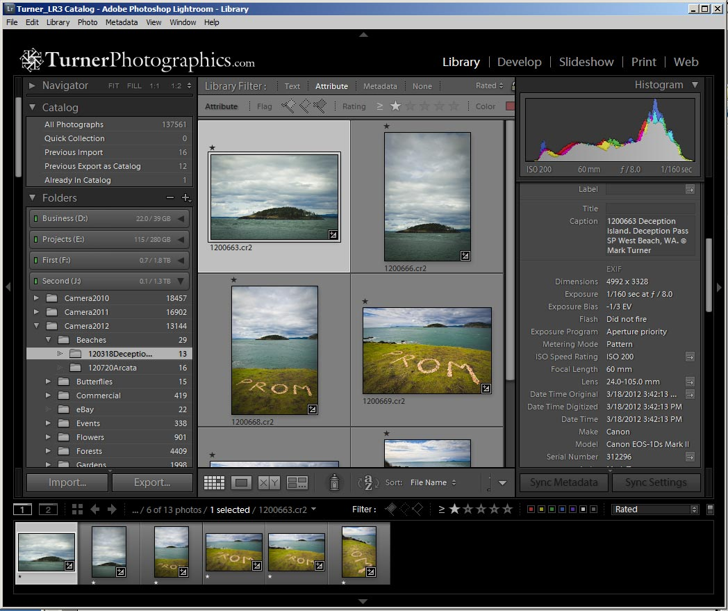 Lightroom Library