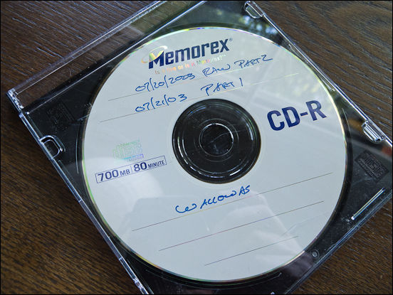 CD of photos, 2003