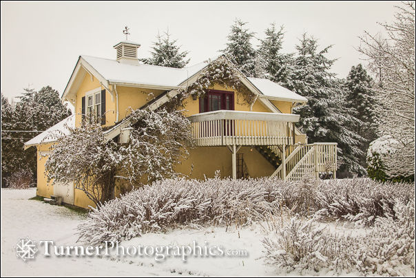 Turner Photographics studio in winter