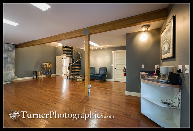 Camera room. Turner Photographics Studio, Bellingham, WA. © 2014 Mark Turner