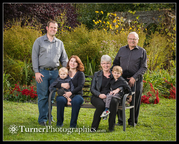 Whitlock family portrait